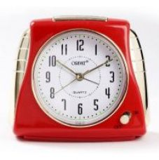 Buy Orpat Tbsmzl-867 Analog Clock(Red) for Rs. 425