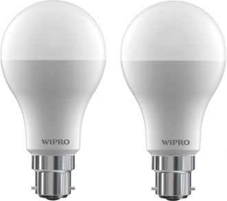 Get 40% off on Wipro 12 W B22 LED Bulb(White, Pack of 2)