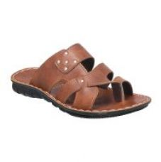 Buy Action Floaters MenS Tan Slip On Sandals for Rs. 319