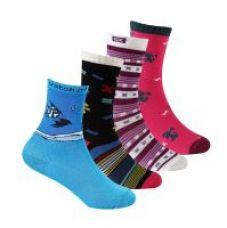 Supersox Kid's Pack Of 4 Combed Cotton Socks (KCCD0025) for Rs. 259