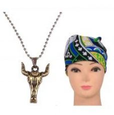 Jstarmart Animal Pendent Necklace Combo Headwrap JSMFHNL0260 for Rs. 149