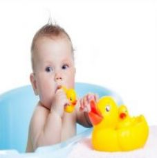 Flat 45% off on Futaba Baby Bath Toy Squeaky Duck- Pack of Two