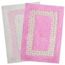 Get 76% off on Saral Home Set of 2 Cotton Bath Mats