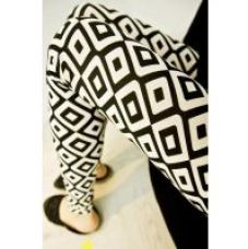 Buy N-Gal Pattern Pencil Leggings (NG79484) from ShopClues