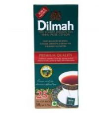 Dilmah Premium Tea 25/2.0g Tea Bags - Pack of 2 for Rs. 299