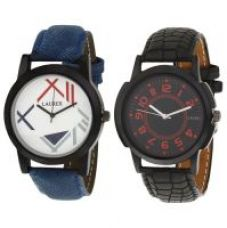 Get 73% off on New laurex mens watch combo LX-002-021