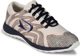 Flat 52% off on BNINTERNATIONAL 102-White-Casual-Shoes Casuals(White)