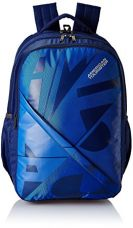 Buy American Tourister 27 Ltrs Blue Casual Backpack (AMT Boom Backpack 03 - Blue) from Amazon