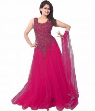 Flat 76% off on CHUNARLIFESTYLE Anarkali