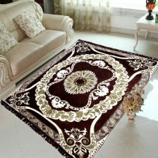 Zesture Multicolor Chenille Area Rug  (150 cm  X 210 cm) for Rs. 489