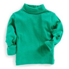 Green High Neck T-Shirt for Rs. 135