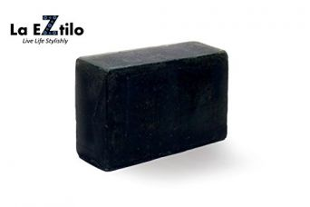 Buy La Eztilo Black Charcoal Soap | Herbal Soap | Deep Cleansing | Dead Cells Removal | Healthy Skin | Reduce Pigmentation | Activated Charcoal | 100 % Chemical-free | Handmade Soap | Bathing Bar | Great Fragrance | Superior Quality (125 Grams) from Amazon