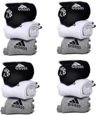 Adidas Men & Women Ankle Length Socks  (Pack of 12) for Rs. 410