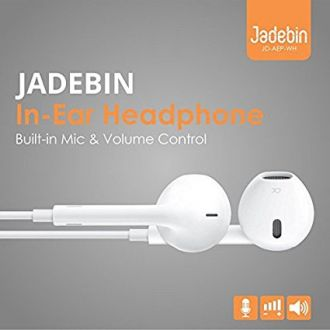 Jadebin Earphones Earpods With Mic compatible with Apple iPhone /iPad / iPod for Rs. 201