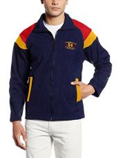Buy Fort Collins Men's Jacket (84184-ol_Medium_Navy and Red) from Amazon