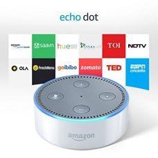 Buy Echo Dot - Voice control your music, Make calls, Get news, weather & more - White from Amazon