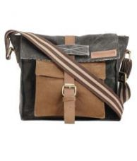 Buy The House of Tara Multi Color Canvas Casual Messenger Bag for Rs. 999