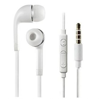 FJCK YR-Yl 3.5m True Sound high Quality In Ear Wired Earphones With Mic White For Samsung, oppo, vivo With Deep Bass And Music Equalizer for Rs. 99