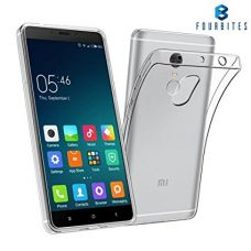 FOUR BITES 1.2 mm Thin Silicone TPU Transparent Premium Shock Proof Crystal Clear Case Exclusive Soft Jel Premium Back Case Cover For Xiaomi Mi Redmi Note 4 For INDIAN Version for Rs. 149