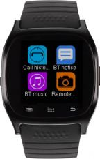 Buy Metronaut MTS003 Smartwatch with Pedometer, Bluetooth Support and Remote Camera  (Black) from Flipkart