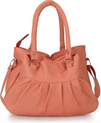 Cottage Accessories Hand-held Bag(Orange) for Rs. 299