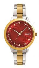 Buy Timex Analog Red Dial Women's Watch-TW00ZR189 from Amazon