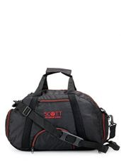 Buy Scott Sports Polyester Black Multipurpose Gym Bag and Casual Backpack from Amazon