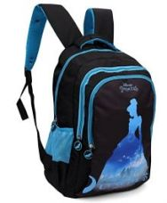 Flat 24% off on Disney Princess Backpack Black - 19 Inches