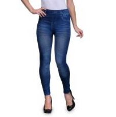 Buy Oleva Blue Star Denim Look Jegging for Rs. 5