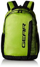 Gear 37 Ltrs Lime Green and Grey Casual Backpack (METLPCMQ30304) for Rs. 899