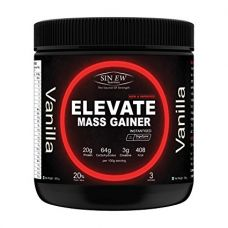 Sinew Nutrition Elevate Mass Gainer with Digestive Enzymes, 300 gm (Vanilla Flavour) for Rs. 199