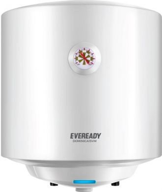 Flat 31% off on Eveready 15 L Storage Water Geyser  (White, Dominica15VM)