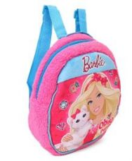 Buy Barbie Plush Bag Blue Pink - Height 12 inches for Rs. 562