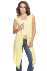 Buy X LIFE Women Sleeveless Casual Shrug