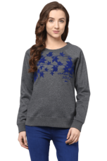 Buy X THE VANCA Women Knit Sweatshirt