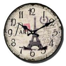 Flat 73% off on Antique Wall Clock Analog Wall Decor Designer  Wall Clock 12 inch size - (32w-Clock-ant-18