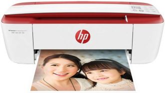 Buy HP Desk Jet Ink Advantage 3777 Multi-function Wireless Printer  (Cardinal Red, Ink Cartridge) for Rs. 5,499