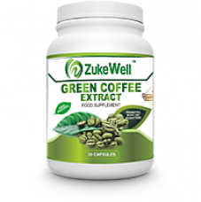 Zukewell Green Coffee Beans Extract (50 CGA) for Weight Management-30 Pure Veg Capsules Pack of 1 for Rs. 5