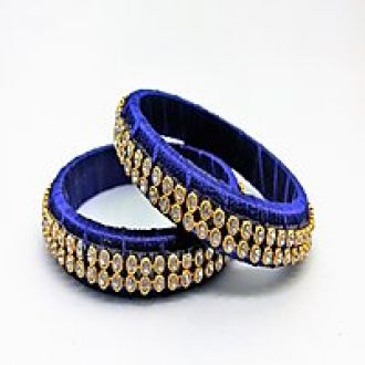 Buy Sai Silk Thread Bangle for Rs. 229