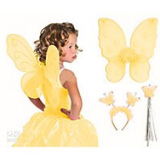 Buy Aarika YELLOW Butterfly Wings For Girls for Rs. 249
