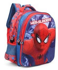 Get 34% off on Spider Man With Face Mask School Bag Red - 16 inches