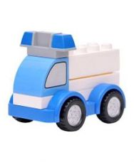 Get 66% off on Happykids Pull & Push Construction Toy - Blue White