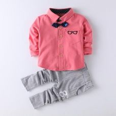 Get 13% off on Specky Pink Shirt And Formal Set