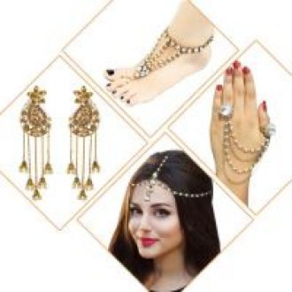 Meia Set Of 4 Jewellery Combo-1002554 for Rs. 399