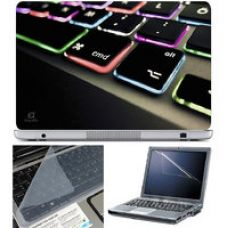 Buy Finearts Laptop Skin 15.6 Inch With Key Guard  Screen Protector - Keyboard Color Led for Rs. 229
