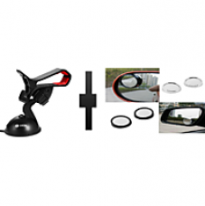 Buy s4d car mobile holder and blind spot mirror from ShopClues