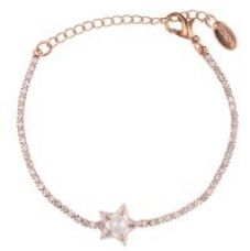 Jazz Beautiful Shiny Cz American Diamond Stones Designer Gold Plated Ladies Bracelet Kada for Girls for Rs. 180
