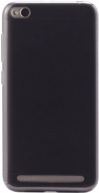 Flat 34% off on Xiaomi Back Cover for Redmi 5A  (Black, Shock Proof, Silicon)