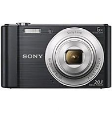 Flat 6% off on Sony CyberShot DSC-W810 20.1 MP Point and Shoot Camera(Black)