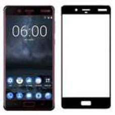 Buy Stuffcool Mighty 2.5D Full Screen Tempered Glass Screen Protector Guard for Nokia 8 (Black) from Croma